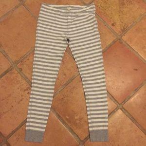 J CREW Pajama Jogger Legging Pants SMALL